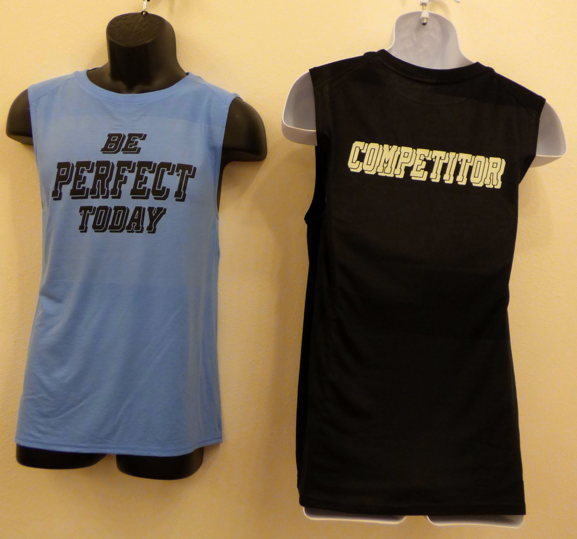 Men's 'Be Perfect Today' muscle shirt