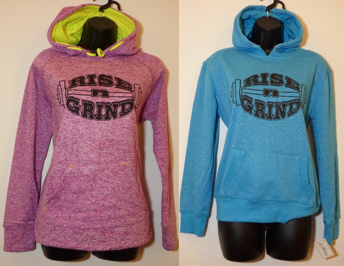 Women's 'Rise-n-Grind' hoodies